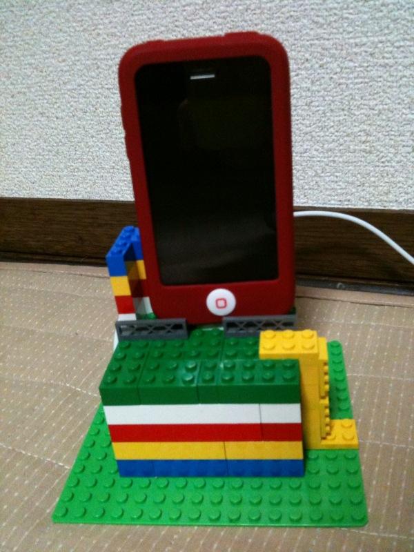 i phoneのスタンド