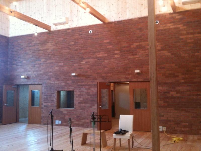 新築スタジオ