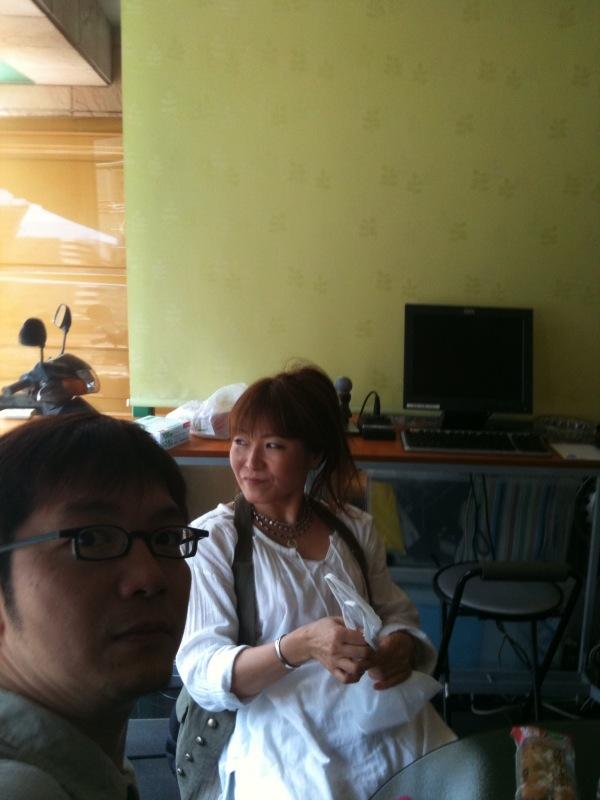 中孝介さんのリハーサルです。
