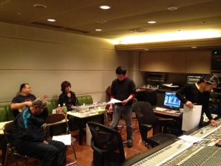 瀬木さんのレコーディング